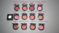 Hot!! Makeup Brand 24 Color Blusher Wrote the original English name High Qualituy 6G Lasting Blush 12PCS Free Shipping