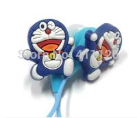 100pcs Animal cartoon earphone good quality In-ear universal 3.5mm earphone port mutil style free shipping
