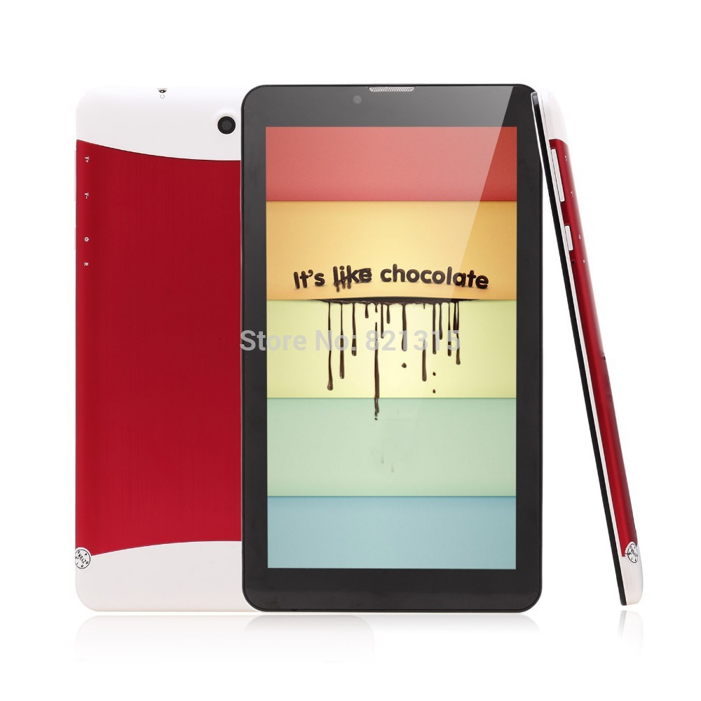 7 inch Tablet PC 3G Phablet GSM/WCDMA MTK6572 Dual Core 4GB Android 4.2 Dual SIM Camera Flash Light GPS Phone Call WIFI Tablet(China (Mainland))
