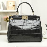2014 NEW DESIGN original genuine leather handbag for women,brand women's handbags,pattern tote bags,woman messenger bag,dropship
