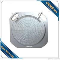 Precision Wheel Aligner Turntable  Aluminum  Alloy Wheel Aligner Plate Easy Sliding