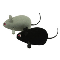 Free Shipping  Funny Wind up Pet Toys Walking Moving Mouse Mice Toys for Cats and Dogs Cute Pet Products