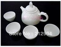 Free shipping Japanese Style Kungfu Tea Set Dragon Bone China Tea Cup Pot Set