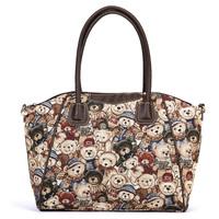 Danny Dear Printing Handbags Women Fashion Shoulder Bag Vintage Messenger Bag Shopping Bag BFK0211