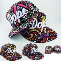 2014 New Popular Geometric Pattern Colorful Fashion Baseball Cap Men & Women Hip Hop Hat  G4039