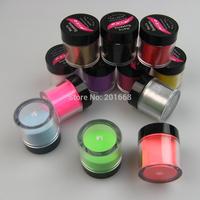 Jumbo kit 12 colors Nail Art Acrylic Powder Dust Set For Nail Decoration 25g Polymer Crystal Powder
