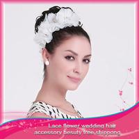 Free Shipping 1pcs  Fashion Bridal Hair Accessories Flower Headband Comb Wedding Women Hot Selling