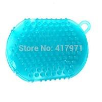 Single Slimming Massager Gloves  (blue  green )