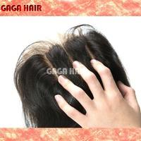 "100% Brazilian Virgin Human Hair Body Wave Lace Top Closure 5X5"" Bleached All The Knots Brazilian 3 Way Part Hair Piece"