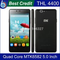 2014 New Original THL 4400 MTK6582 Quad Core Android Smartphone 5.0 Inch HD 1GB RAM 4GB ROM 8.0MP Camera 4400mAh/Kate