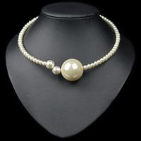 (Min Order.10USD) White pearl neckalce bracelet fashion jewelry set  for women 2014 new high quality hot sale