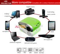 200lumens digital Projektor  projecteur  Mini LED LCD HD Home Theater Projector With HDMI+USB+TV Tuner
