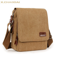 Fashion casual bag male backpack shoulder bag small messenger bag canvas bag bag messenger bag