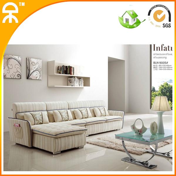 1+chaise lounge+3 seat fabbric living room furniture sofa #CE9005(China (Mainland))