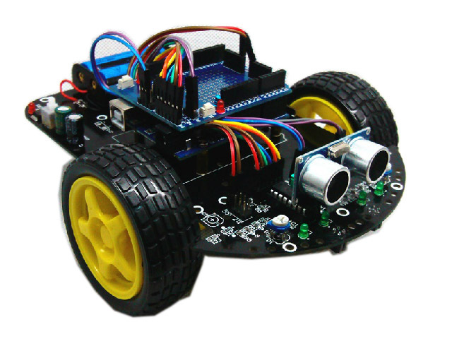 Tutorials with Arduino: F1 RC Car DC motor driven by