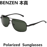 2014  Men Polarized  Sunglasses Driver Driving  Glasses Oculos De Sol Masculino With Case Black 2087B