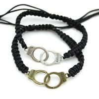 Handmade Friendship weave rope Freedom handcuffs bracelet women