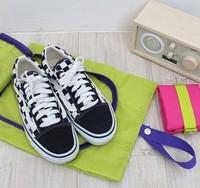 traveling  waterproof dustproof shoes storage organizer bag shoe hanger travel shoe bag 2pcs/lot