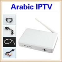 Hot 2014New 1pcs/Lot Arabic IPTV Box, 700 Plus IPTV Arabic Channel TV Box, Android 4.2 WiFi HDMI Box Free shipping DHL Fedex IE
