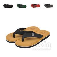 2014 New Cheap summer slipper for Men flip-flops Flat platform summer shoes Beach Massage slipper Sandals men's sandals camel