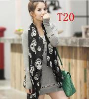 Chiffon Fashion autumn -summer ice silk Scarf  Tassel  Scarf, Stole, Shawl, wrap, Long size Cape for women / girl, ,   T20