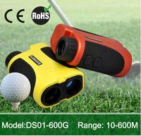 Multi laser rangefinder Golf Rangefinder 600m pinseeking water resistant/ speed finder OEM ( with pinseeking funtion)