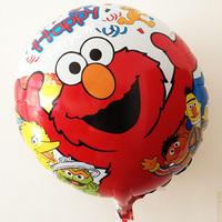 10pcs/lot 18inch twinkle elmo balloon sesame street balloon softplay elmo sesame street balloon cartoon sesame street party