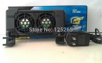 BOYU  Aquarium Cooling  Product For Tropical Aquarium Cooling Fans FS-602 DC12V