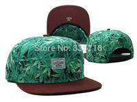 Cayler & Sons Snapback hats Maple Leaf print Most popular mens women hip hop baseball caps 18 styles hiphop cap Free Shipping