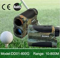 Eyesafe golf range finder 800m water resistant  laser distance finder  Distance measuring only  ( with pinseeking funtion)