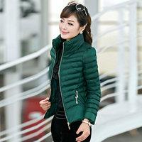 women winter jacket, fashion contton padded slim jacket, Women's Coats Casaco Feminino Inverno,winter parka,free shipping, L0660