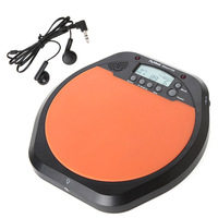 Digital Electric Electronic Drum Pad for Training Practice Metronome with Retail Package Stereo Earphone
