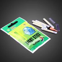 50Pcs Fishing Night Fluorescent Light Float Glow Stick Lightstick 4.5*37mm S7NF