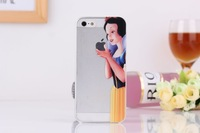 10pcs/lot Unique Snow White Hands LOGO Hard Case For iphone 4G 4S 5G 5s For iphone 4G 4S 5 5s Hard Case High Quality