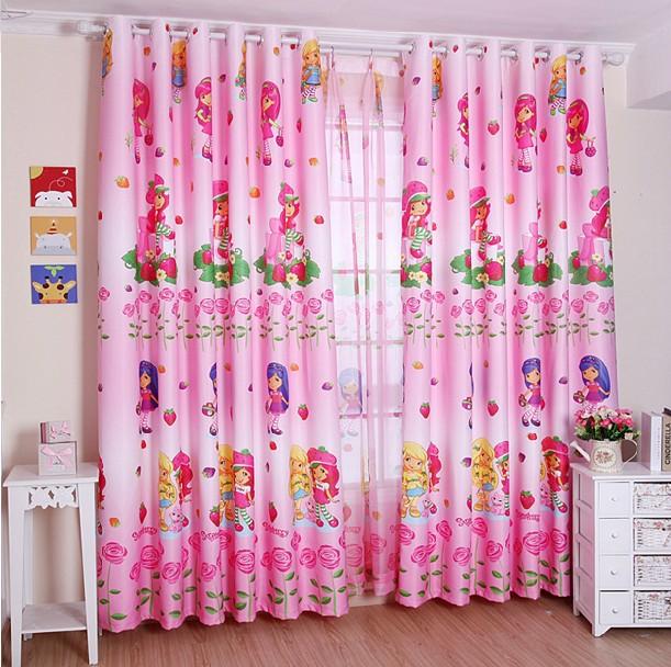 Online kaufen gro handel rosa gardinen aus china rosa for Gardinen pink
