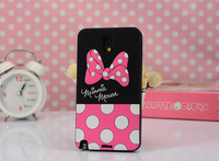 2014 New Cartoon Donald Duck Winnie the Pooh Dale Minnie Mouse Silicone Case For Samsung Galaxy Note 3 N9000 N9005 Phone Cases