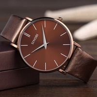 Wholesale cheap Hot Brand Sinobi Ultra-thin Case Men's Causal Quartz Watch  inveted submersible the trend of fashion men watches