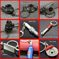 Hot sale Turbo,Shock Absorber,radiator,disc brake,pill case,spark plug,car speaker,Keychain Key Chain Ring Key Fob Keyring