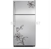 Hot sell! Flower Refrigerator/Fridge/Art Wall Stickers / Wall Decals /House decor
