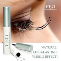 FEG eyelash growth serum enhancer grow  eyelash2 mm in 7 days 3 ml per box free shipping 2 pc/lot