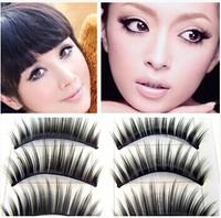 500pairs Handmade beautiful transparent exquisite handmade transparent  eyelashes false eyelashes