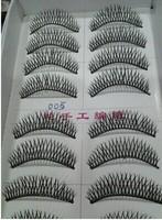 hot sell Top quality synthetic black false eyelash wholesale( 10pairs/box), 500pairs\lot