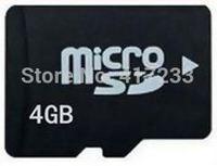 Wholesale  high quality 4G micro sd card memory card TF card real capacity
