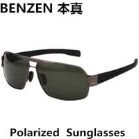 2014  New Men Polarized  Sunglasses driver driving  glasses Fashion Unisex Metal Sunglasses oculos with case black 2093B
