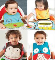 cotton Baby bibs Infant embroidered saliva towels carter's Burp Cloths funny Baby Waterproof bib Carter wear  40PCS/Lot
