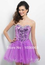 wholesale lavender cocktail dress