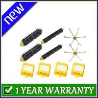 Brush & Filter Big Kit 6 Armed Side Brush For iRobot Roomba 700 Series 760 770 780
