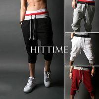 2014 Men Sports Sweat Pants Harem Training Dance Baggy Jogging Casual Trousers 4 Colors # 57102