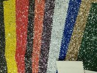 Snow Glitter Pu Leather 50 yards