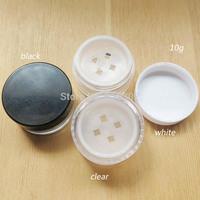 Free shipping -  10G Plastic Powder Jar, 10cc Powder Case, 10g Plastic Jar, 20g is Available